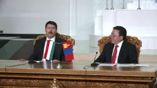 Official visit of Hungarian President Janos Ader to Mongolia